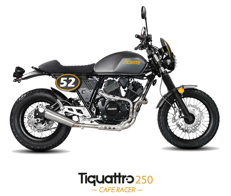 Tiquattro 250 cafe racer
