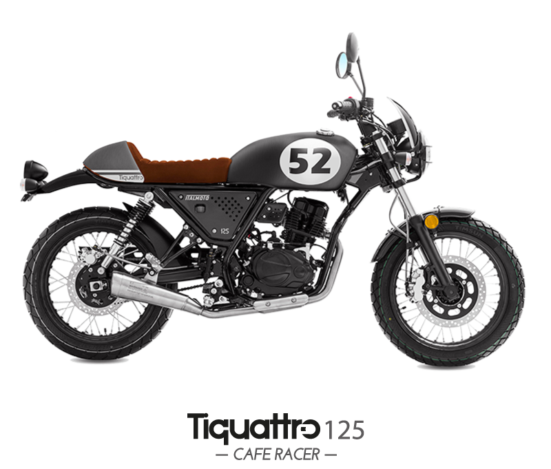 Tiquattro 125 cafe racer