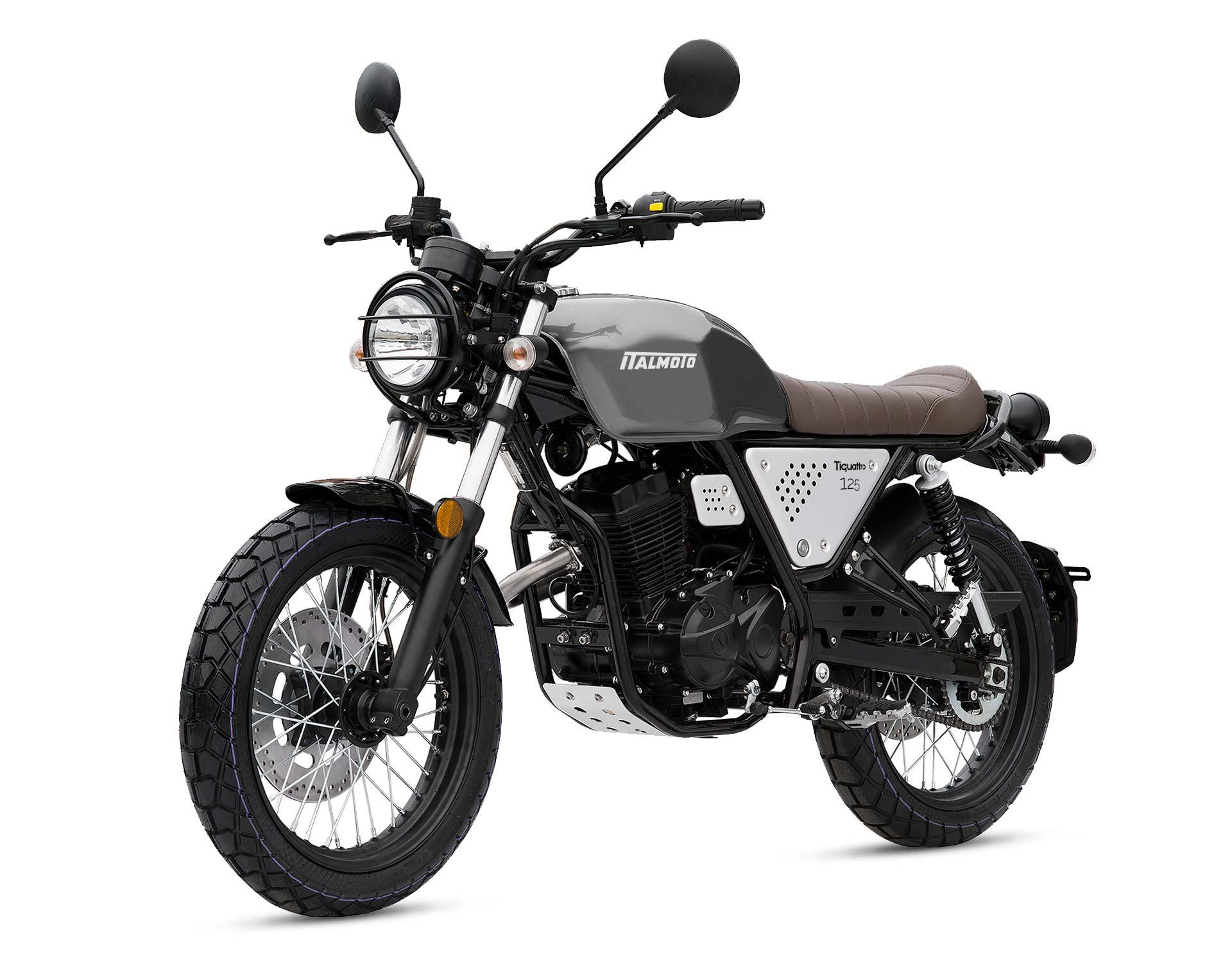 Italmoto Tiquattro Scrambler 125cc