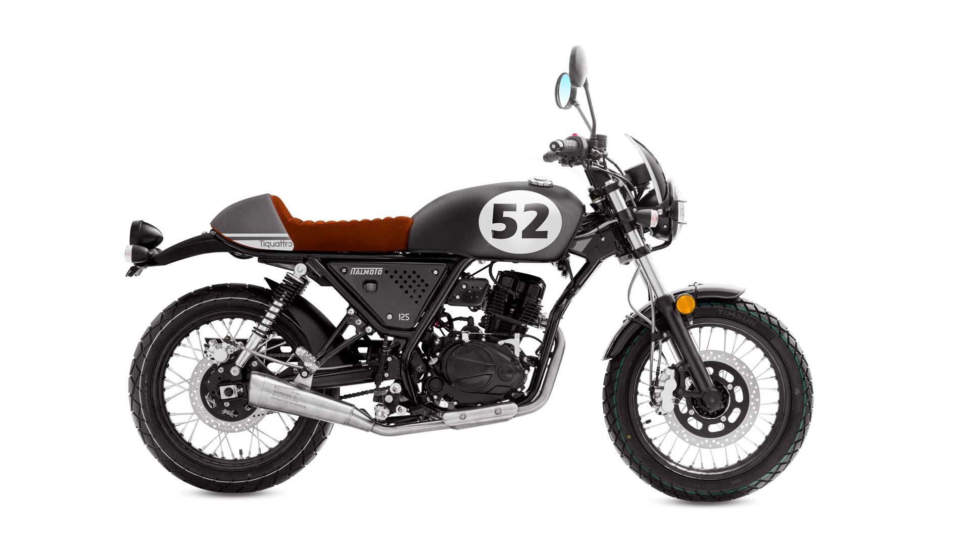 Italmoto Tiquattro Cafe Racer 125cc